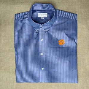 Clemson Tigers button down in excellent condition